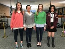 Four Stratford Art Students Receive Honorable Mention Recognition at Regional Art Show