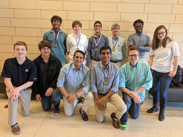 Stratford Upper School Quiz Bowl Teams Excel at Middle Georgia State University Tournament