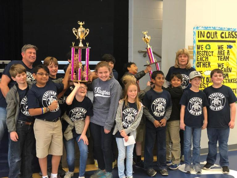 Lower School Quiz Bowlers Take Second and Third Place at 2018 Cherry Blossom Challenge