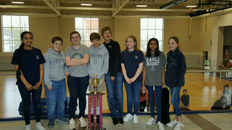 Sixth-Grade Quiz Bowl Team Wins First Place at 2018 Cherry Blossom Challenge