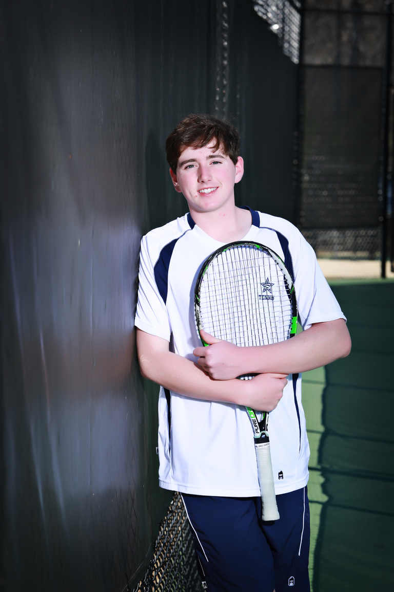 Senior Mark Barrow Selected as 13WMAZ Athlete of the Week