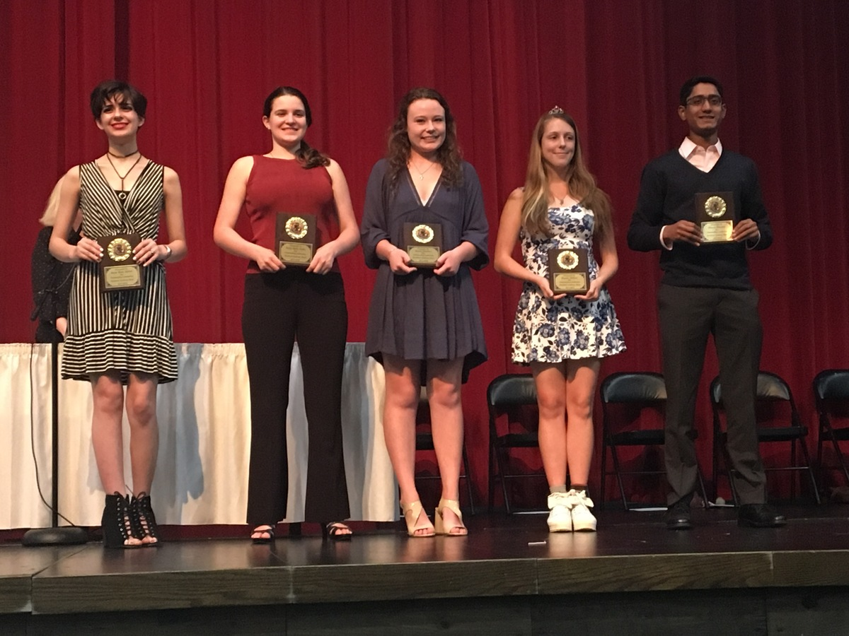 Stratford Band Students Recognized at End of Year Awards Banquet