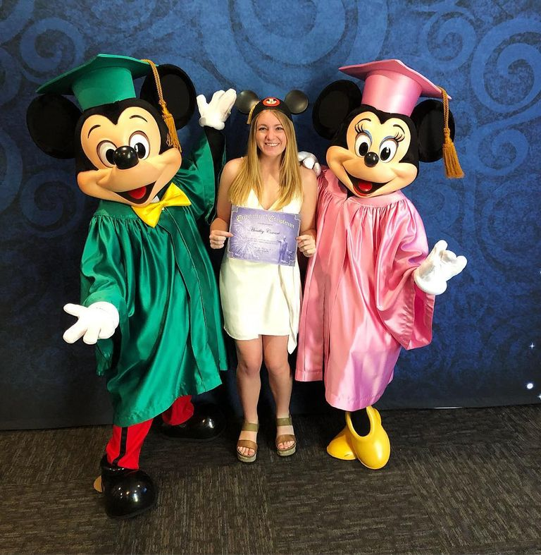 Stratford Alum Huntley Cowart '15 Graduates From Disney College Program