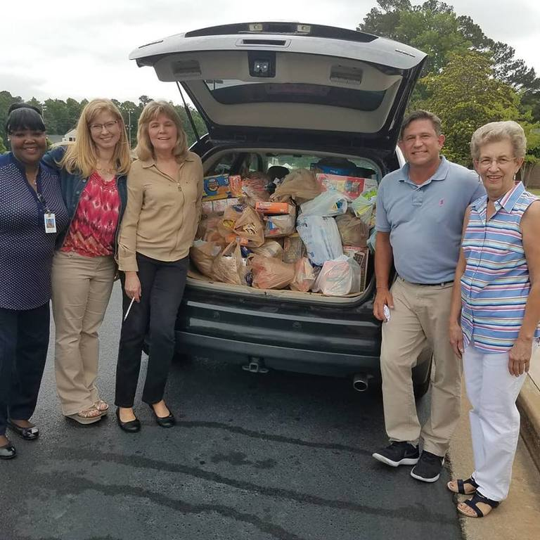Thank You for Your Support of the Backpack/Food Drive to Benefit the Macon Mentor's Project